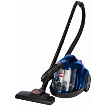 Amazon Com Bissell Zing Bagless Canister Vacuum Blue
