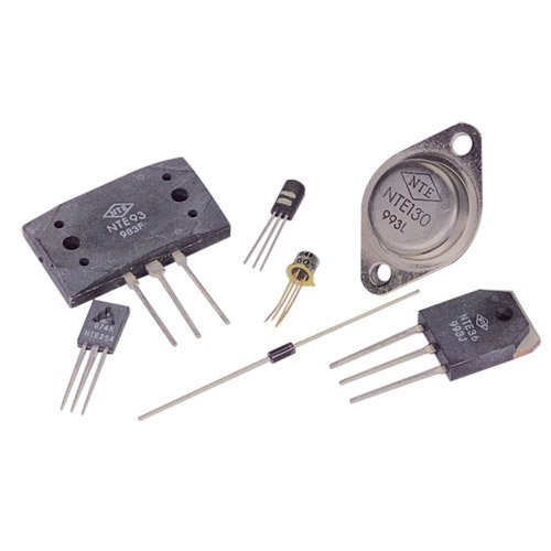 TO-66 Case NTE Electronics NTE124 NTE Electronics NTE124 NPN Silicon Transistor for High Voltage Power Output 325V Collector-Base Voltage Inc. 1A Continuous Collector Current