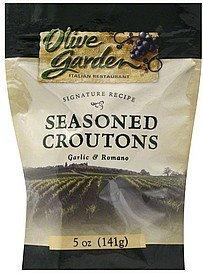 Romano Garlic (Olive Garden, Seasoned Croûtons, Garlic & Romano, 5oz Bag (Pack of 3) by Olive Garden)