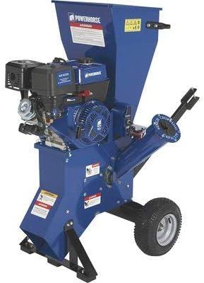 Capacity Powerhorse Chipper//Shredder 420cc Powerhorse OHV Engine 4in