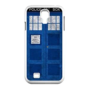 wugdiy Custom Case for SamSung Galaxy S4 I9500 with Personalized Design Police Box
