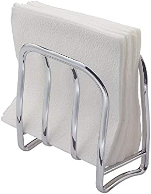 iDesign Portaservilletas, estrecho servilletero vertical de metal ...
