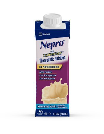 Nepro Liquid Nutrition, Homemade Vanilla, 8-Ounce Case of 24 Containers