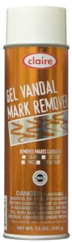 Claire C-880 15 Oz. Gel Vandal Mark Remover Aerosol Can (...