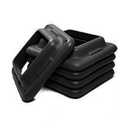 Aerobic Club Step Extra Riser- Black (2 Pack)
