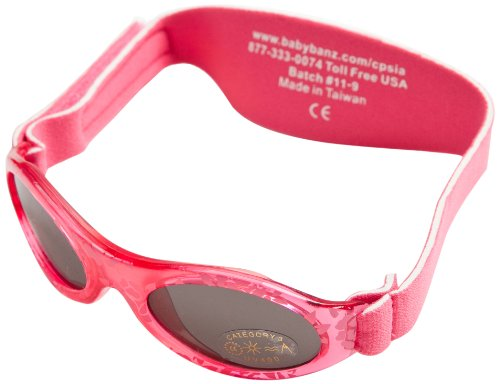 Adventure BanZ Baby Sunglasses, Red Leaf, 2-5 - Baby Banz Australia Sunglasses