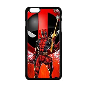 Red cloth Deadpool Cell Phone Case for iPhone plus 6