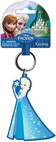 Monogram Disney Frozen Queen Elsa PVC Soft Touch Keyring: Amazon ...