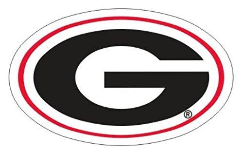 Craftique Georgia Bulldogs G Logo Car Decal-18in