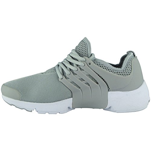Saute Styles Hommes Fitness Gym Garçons Flats Shock Absorbing Sports Running Chaussures de Course Chaussures Taille 40-45 Gris K7iKl9h