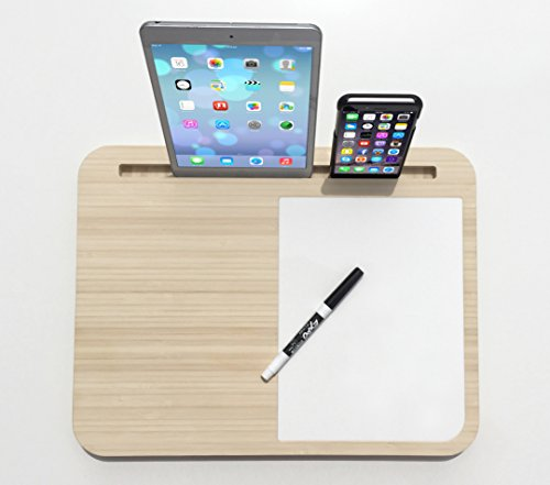 Tab LapDesk - The Best LapDesk for Tablets and Smart Phones (WhiteBoard Right)