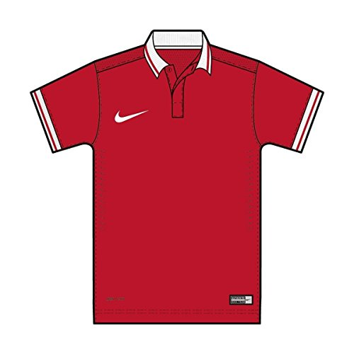 Nike Laser II Jersey Short Sleeve Top SS yth university red/white ipglBXUsw