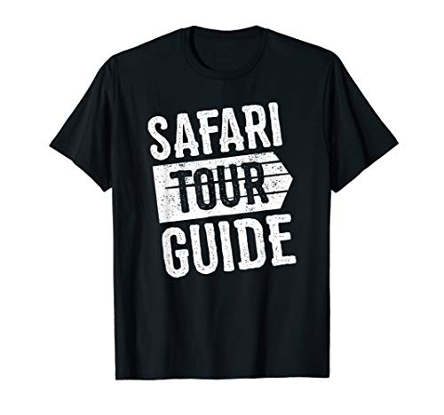 Safari Tour Guide Funny Halloween T-Shirt Costume Kids Adult]()