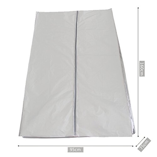 Treadmill Cover, Egymcom Sports Running Machine Protective Folding Cover Dustproof Waterproof Indoor/Outdoor Cover(Silver Color)