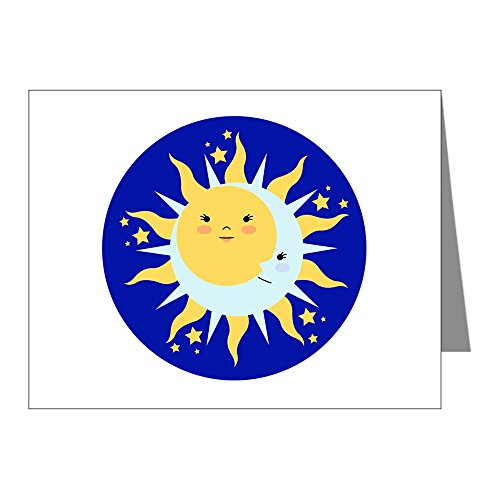CafePress - Solstice Sun Note Cards - Blank Note Cards (Pack of 20) - Solstice Sun