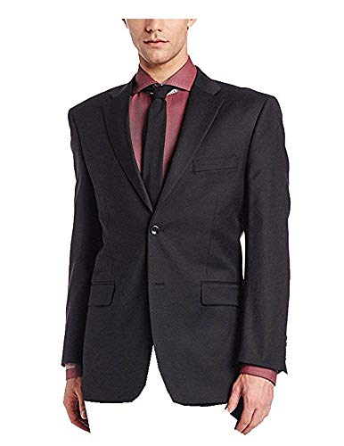 - Jones New York Men's Trent Two-Button Side-Vent Slim Fit Blazer Jacket 36x29.5