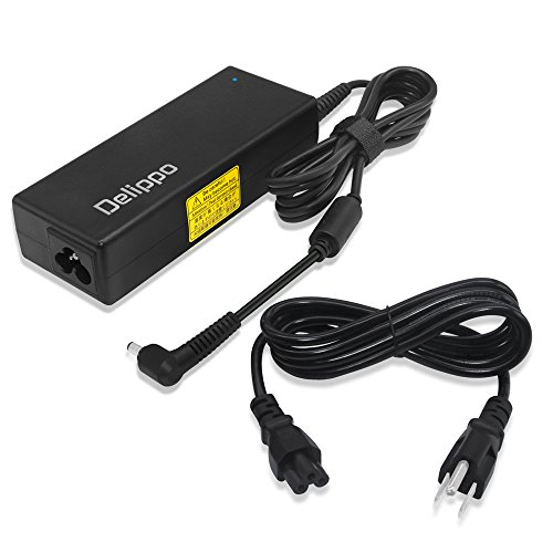 Delippo Extra Long 10.2Ft 19V 3.95A Laptop AC Adapter Charger for Toshiba 510 500 PA3468U-1ACA A100 A105 M60 M65 1100 1900 PA3432U-1ACA PA3468U-1ACA F4600-60901 0950-4334 PA-1750-04 ADP-75HB (Adapters 5525 Laptop Series)