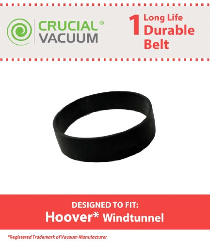 Replacement for Hoover WindTunnel Agitator Belt, Compatible With Part # 40201160, 38528033, AH20080, 38528058 & 38528057, by Crucial Vacuum - Self Propelled Agitator