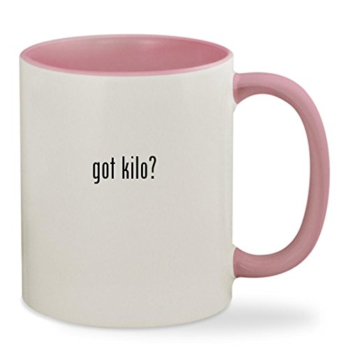 got kilo? - 11oz Colored Inside & Handle Sturdy Ceramic Coff