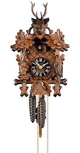 Cuckoo Clock 3-leaves, head of a - Cuckoo Deer Clock