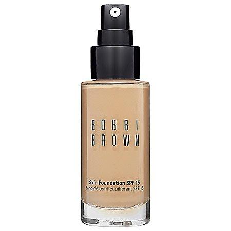 Bobbi Brown Skin Foundation SPF 15 4.25 Natural Tan for Women, 1 Ounce
