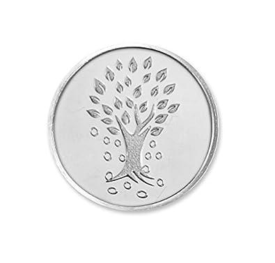 Kundan 10 gm, 999 Silver Kalpataru Precious Coin