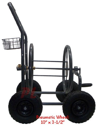 Mobile Garden Hose Reel Cart up to 225' X 5/8'' by Generic