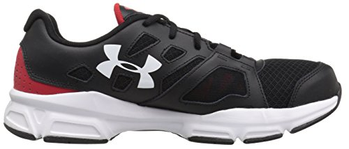 Under Armour Zone 2 Sneaker - black w red side 1