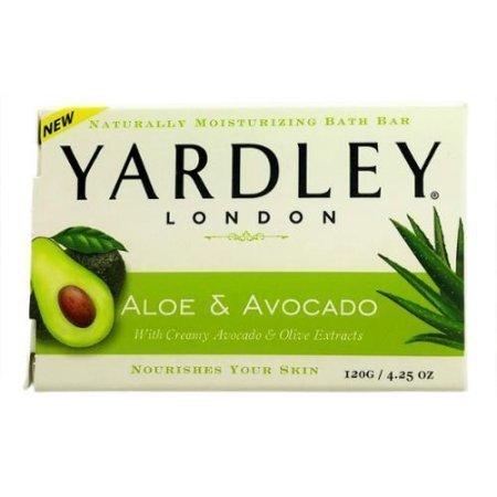 Avocado Oil Wholesale - Yardley London Aloe and Avocado Naturally Moisturizing Bath Bar  4.25 oz (Pack of 1)