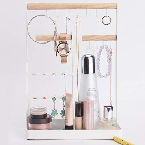 Hanging Tabletop Cosmetic Holder Rings