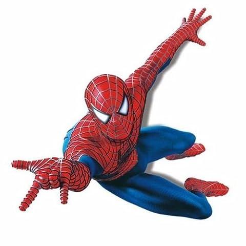 Super Hero Spider-man Mural Vinyl Wall Decal Sticker Kids Nursery Room Decor DIY (Mario Bedroom Decor Furniture)