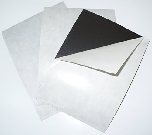 """8"""" x 10"""" 60 mil Adhesive Magnet Sheets - 5 Pack - Thick Magn"""