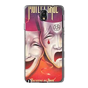 Bumper Hard Phone Covers For Samsung Galaxy Note3 With Allow Personal Design HD Motley Crue Band Image AlainTanielian