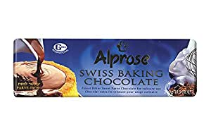 Alprose Swiss Baking Chocolate Kosher For Passover 10.5 Oz. Pack Of 3.
