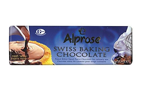 Alprose Swiss Baking Chocolate Gluten Free 10.5 Oz. Pack Of 3. ()