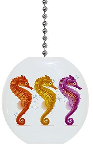 Seahorse Trio Solid Ceramic Fan ()