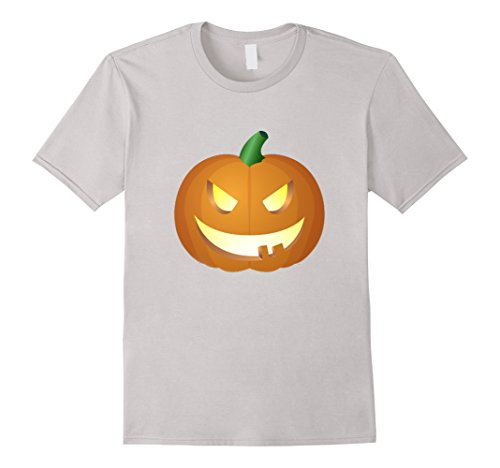 Mens The Official Scary Face Halloween 2017 Costume T-Shirt 3XL Silver