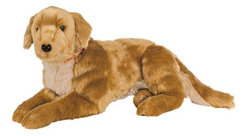 Ditz Designs Large Plush Realistic Stuffed Animal Pillow Golden Retriever Dog Hug