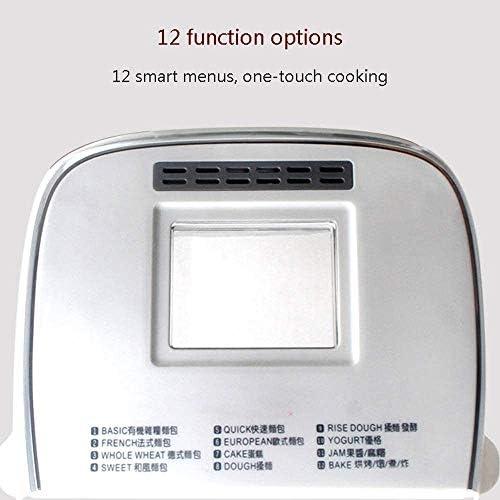 LXDDP Machine à Pain Multifonction Automatique Grille-Pain mélangeur pâte Intelligent fermenteur Yaourt Machine Cuisson du Pain Machine à Pain