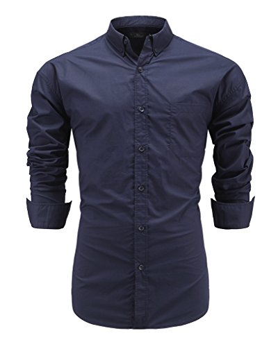 mens 100 silk dress shirts - 7