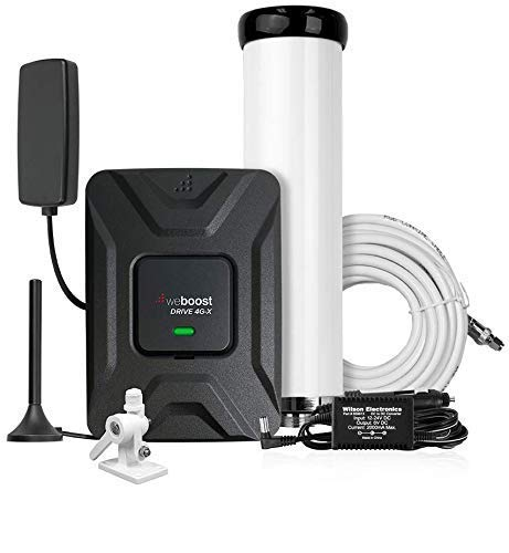 weBoost Drive 4G-X 470510 Cell Phone Signal Booster, Marine Bundle, Cell Signal Booster Kit for Boat & Marine Applications, Boosts 4G/LTE/3G Signals - Maximum Cell Signal Boost Allowed by FCC