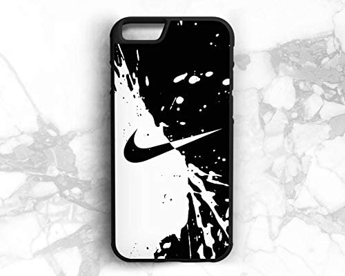 Nike iPhone case in Black and White Color (iPhone 8 Plus)