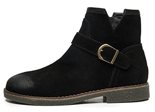 uBeauty - Bottes Femme - Martin Bottes - Boots Flattie Sport - Chaussures Classiques - Bottines
