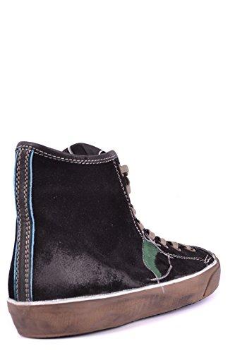 Modello Philippe Mcbi238030o Sneakers Alte In Camoscio Nero
