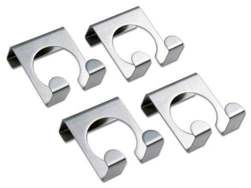 CHG 9892-00 Türhaken 4 Stück aus rostfreiem Edelstahl