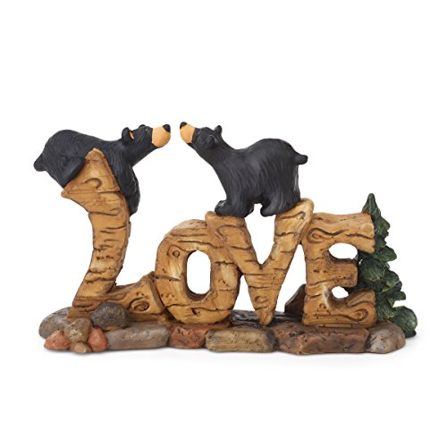 Big Sky Carvers Love Bears Figurine (Big Sky Bear)