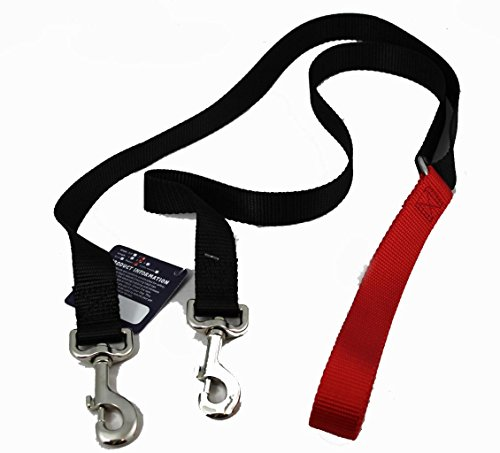 Freedom No Pull 1 Inch Training LEASH ONLY Works with No Pull Harnesses Red (Training Pull)