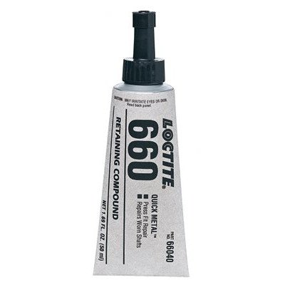 660™ Quick Metal® Retaining Compound - 6-ml quick metal pressfit repair ret cpd 660 [Set of 10] by Loctite