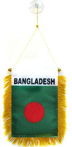 Bangladesh Flag Car Window Hanging Pennant ()
