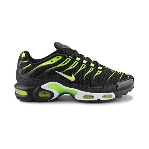 quality design 0fe25 27f7a nike air max plus TXT TN tuned mens trainers 647315 sneakers shoes black  volt white 072 uk 6.5 us 7.5 eu 40.5  Amazon.in  Shoes   Handbags